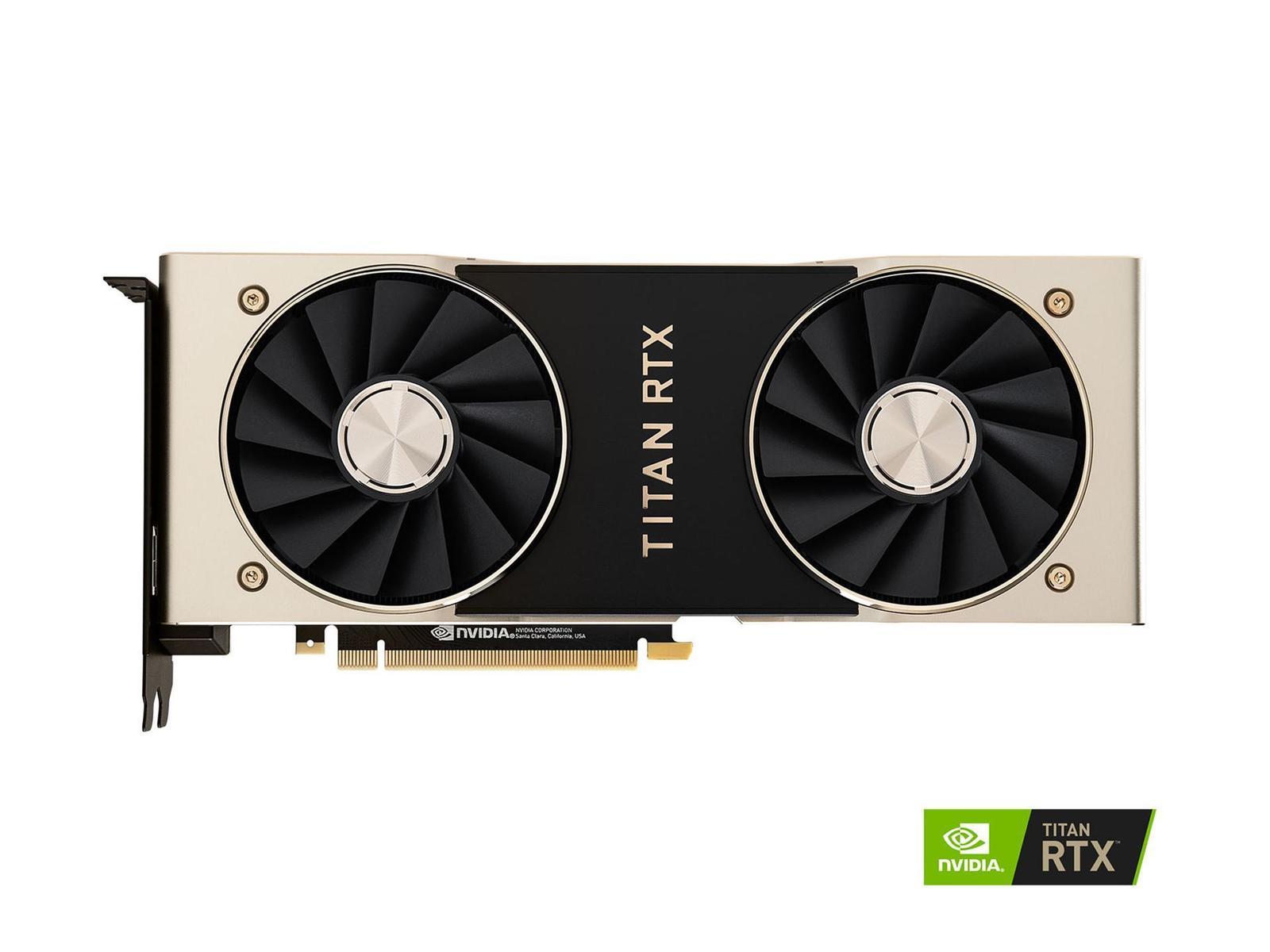 NVIDIA TITAN RTX 24 GB Video Card