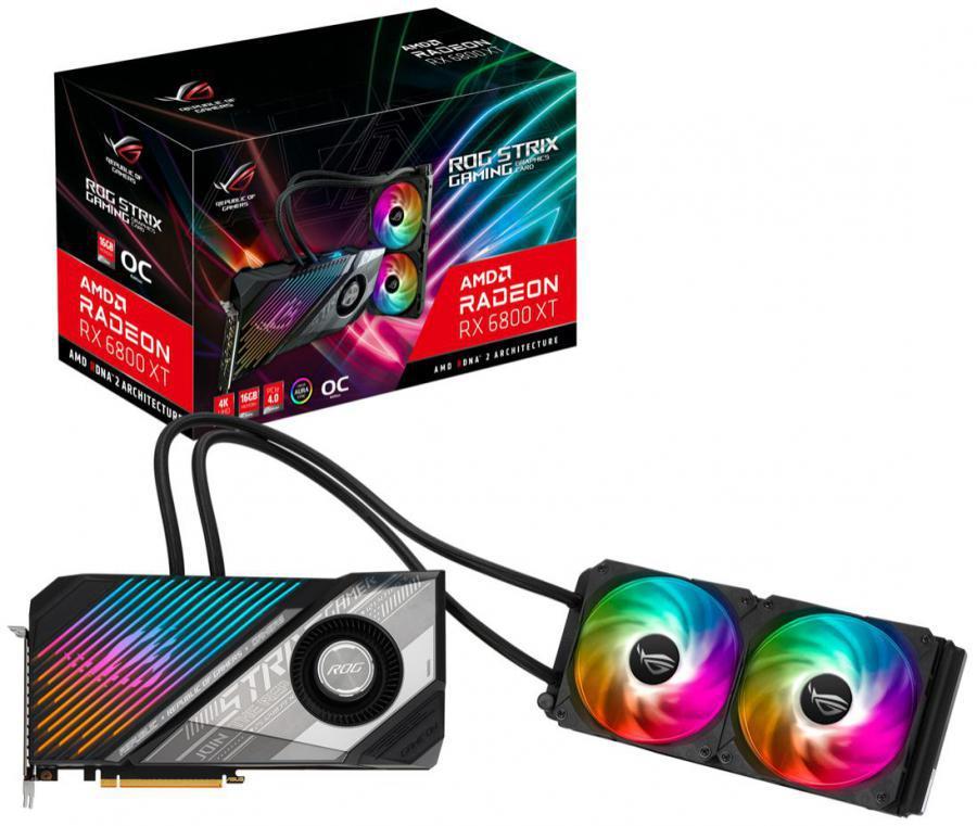 Asus Radeon RX 6800 XT 16 GB STRIX LC GAMING OC Video Card