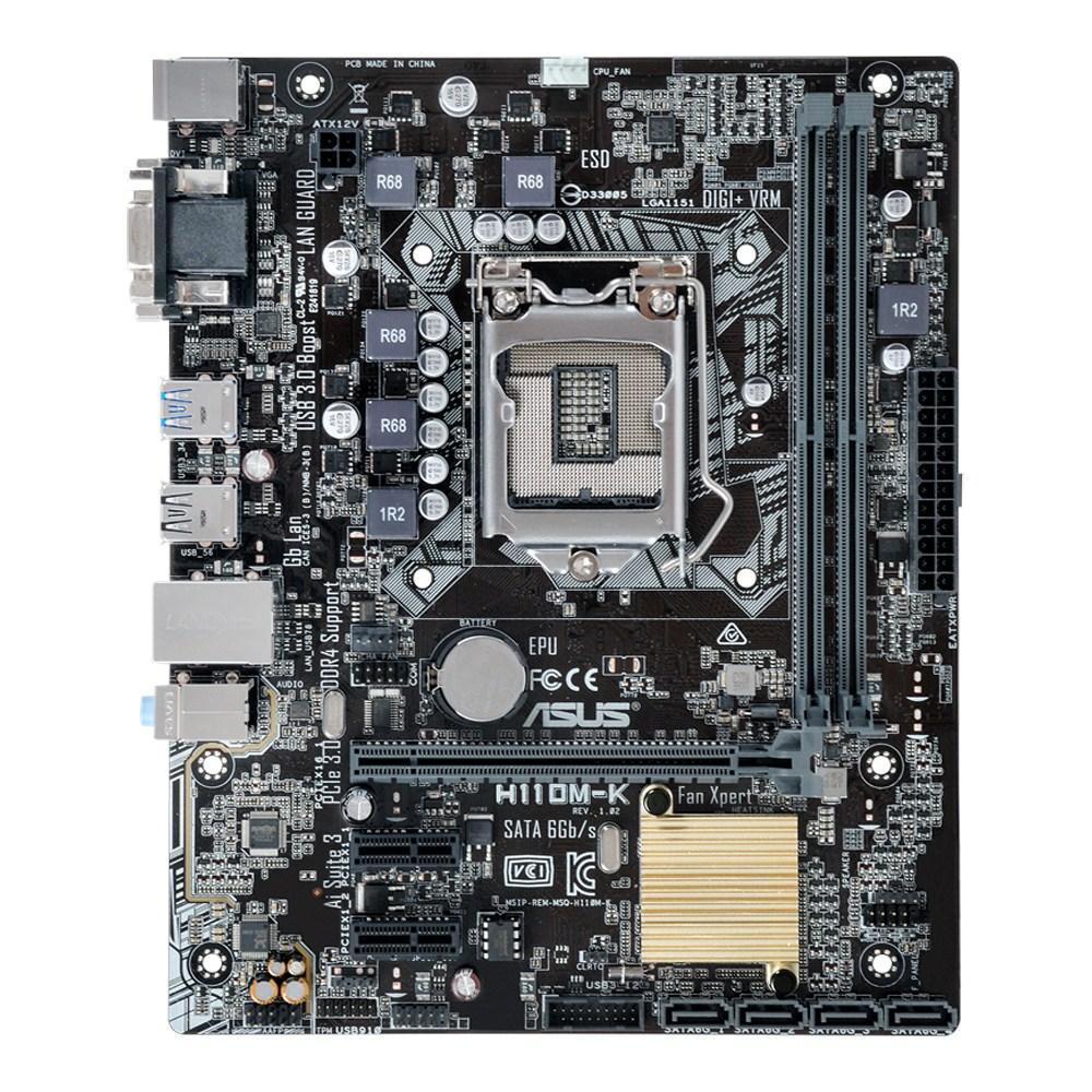 Asus H110M-K Micro ATX LGA1151 Motherboard