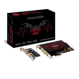 PowerColor DEVIL HDX 7.1 192 kHz Sound Card