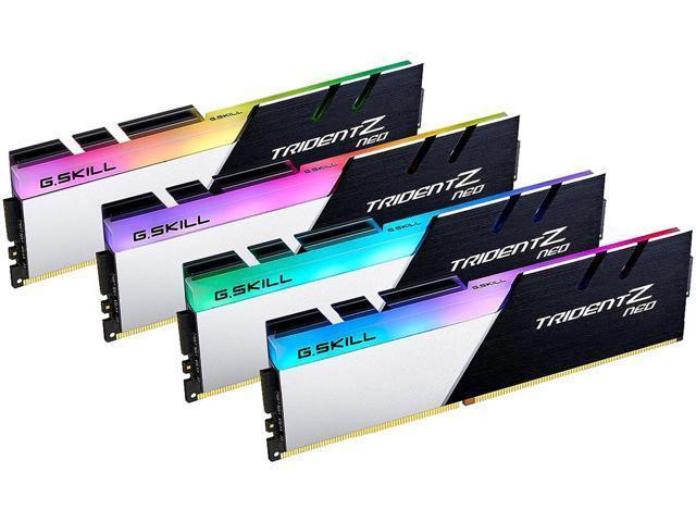 G.Skill Trident Z Neo 64 GB (4 x 16 GB) DDR4-3600 CL16 Memory