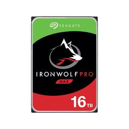"""Seagate IronWolf Pro 16 TB 3.5"""" 7200RPM Internal Hard Drive"""