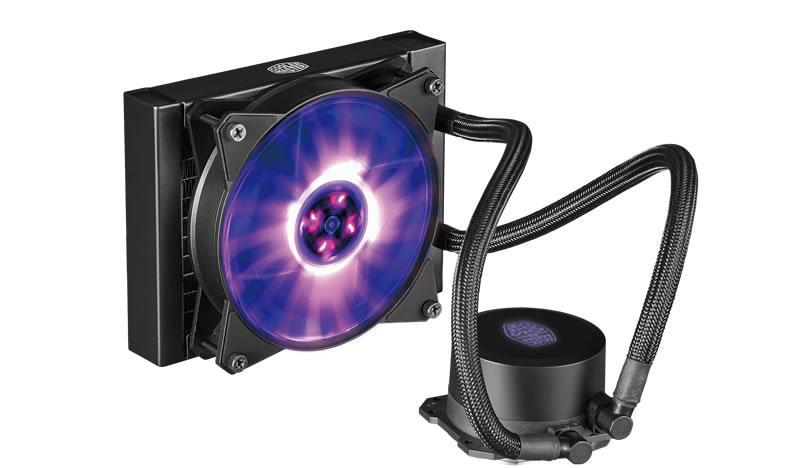 Cooler Master MasterLiquid ML120L RGB 66.7 CFM Liquid CPU Cooler