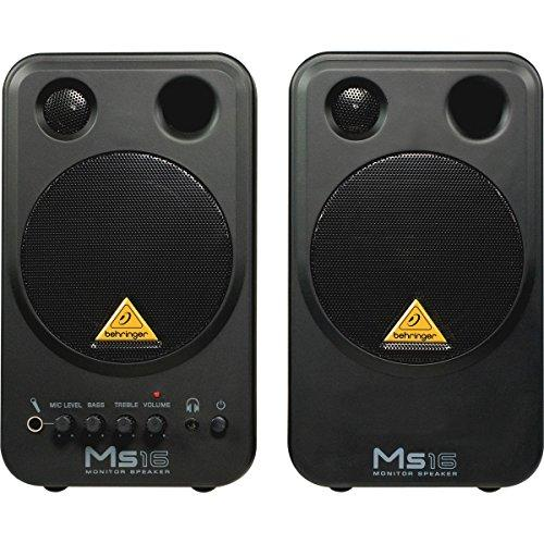 Behringer MS16 16 W 2.0 Channel Speakers