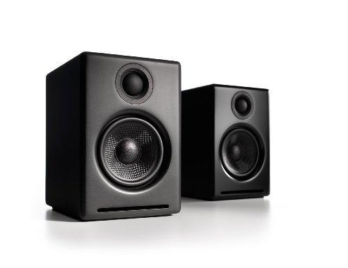 Audioengine A2 (Black) 60 W 2.0 Channel Speakers