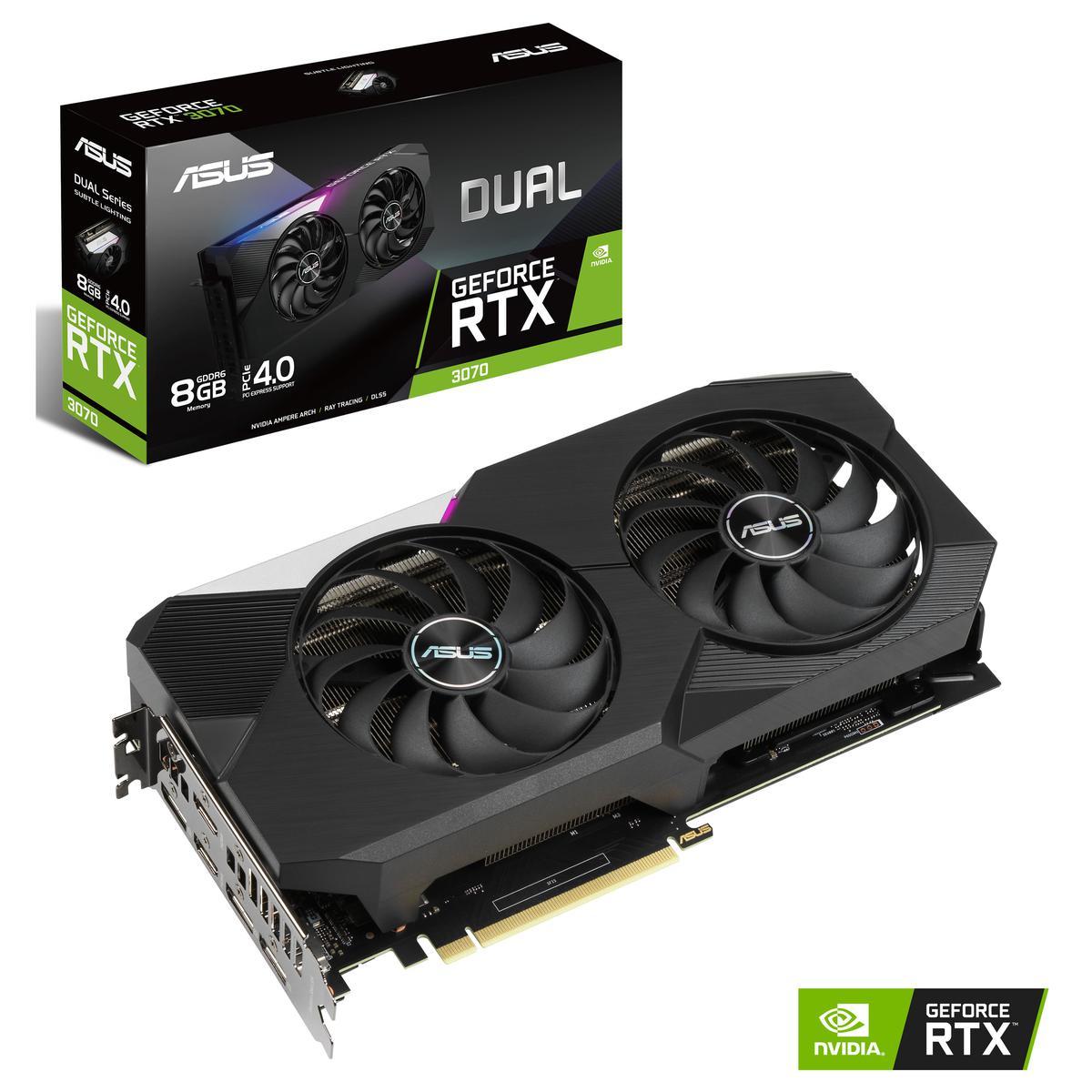 Asus GeForce RTX 3070 8 GB DUAL Video Card