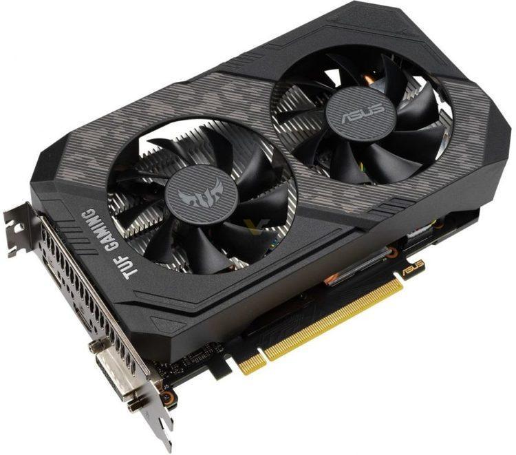 Asus GeForce GTX 1650 SUPER 4 GB TUF GAMING OC Video Card