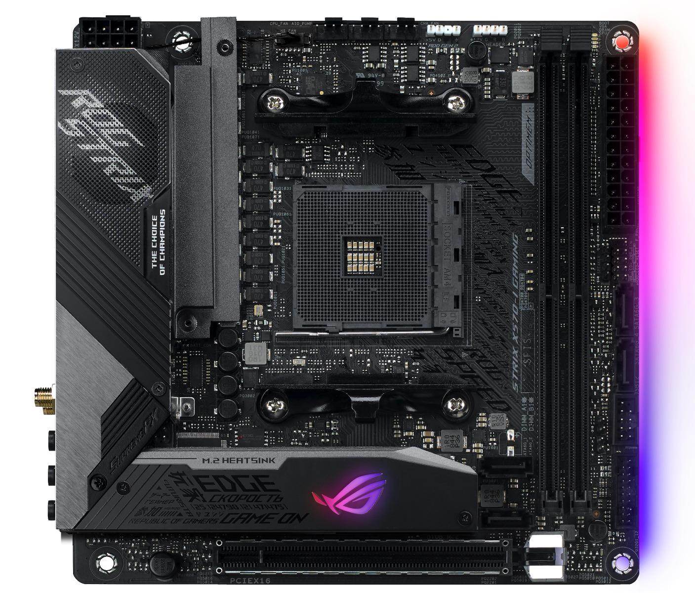 Asus ROG Strix X570-I Gaming Mini ITX AM4 Motherboard