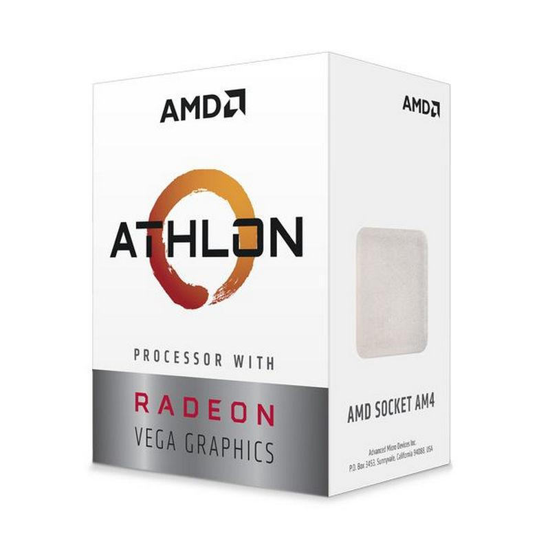AMD Athlon 220GE 3.4 GHz Dual-Core Processor