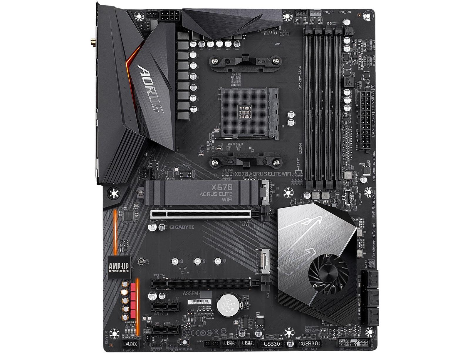 Gigabyte X570 AORUS ELITE WIFI ATX AM4 Motherboard
