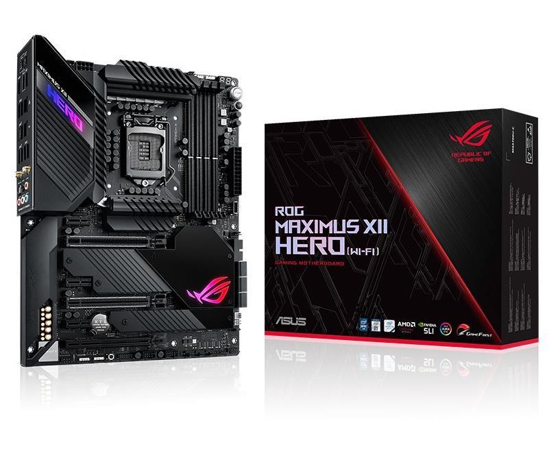 Asus ROG MAXIMUS XII HERO (WI-FI) ATX LGA1200 Motherboard