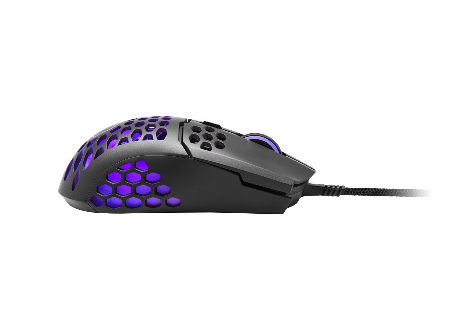 Cooler Master MM711 Black Matte Wired Optical Mouse