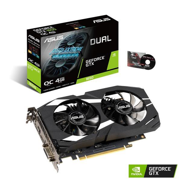 Asus GeForce GTX 1650 4 GB DUAL OC Video Card