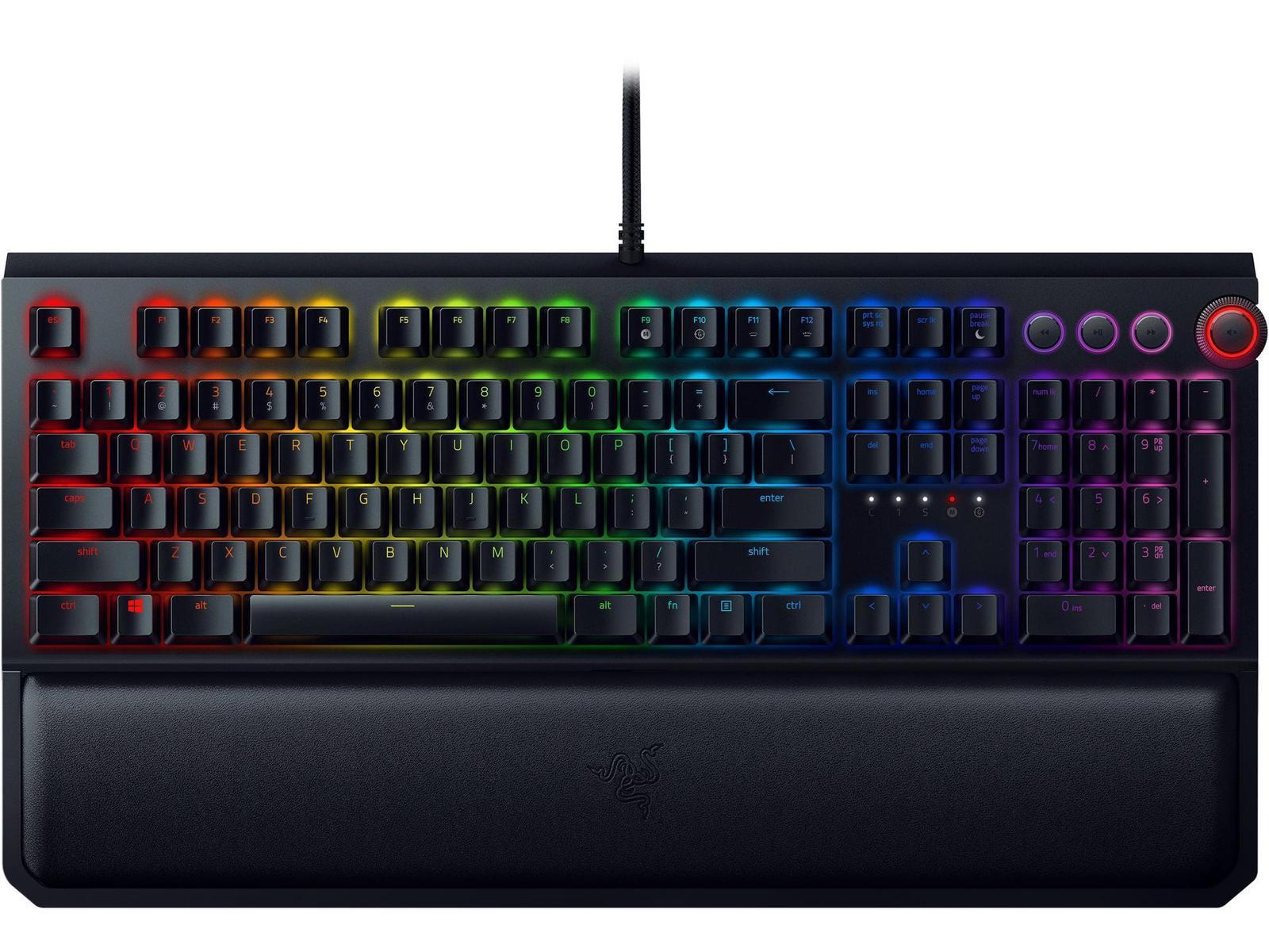 Razer BlackWidow Elite RGB Wired Gaming Keyboard