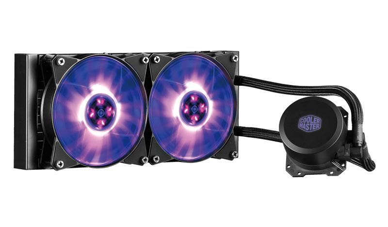 Cooler Master MasterLiquid ML240L RGB 66.7 CFM Liquid CPU Cooler