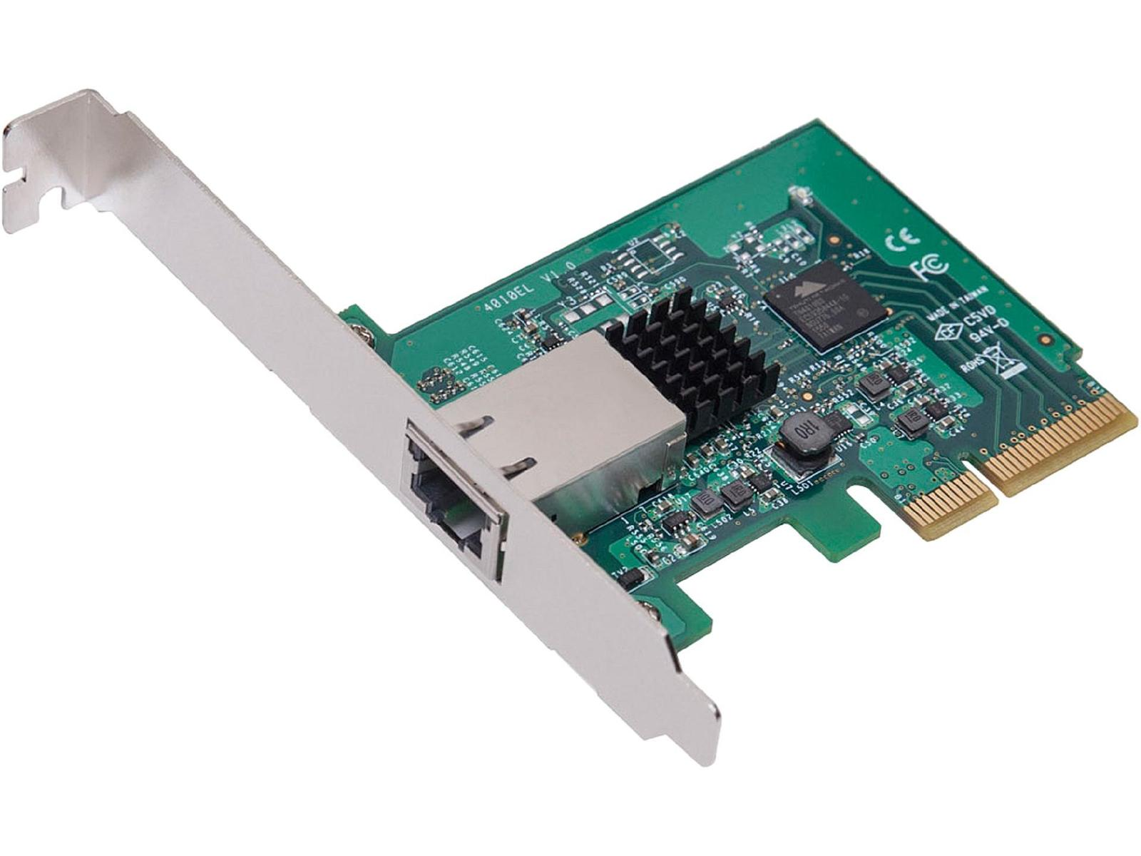 Syba SY-PEX24056 PCIe x4 10 Gbit/s Network Adapter