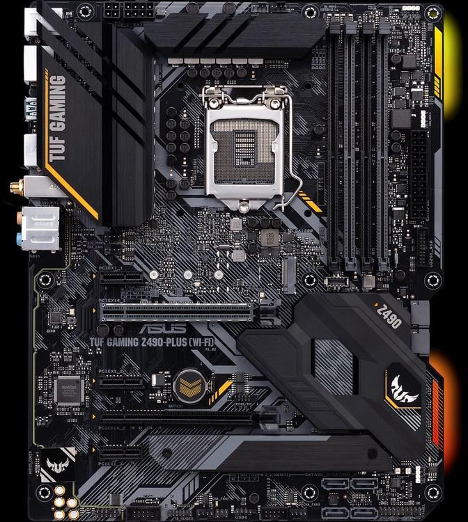 Asus TUF GAMING Z490-PLUS (WI-FI) ATX LGA1200 Motherboard