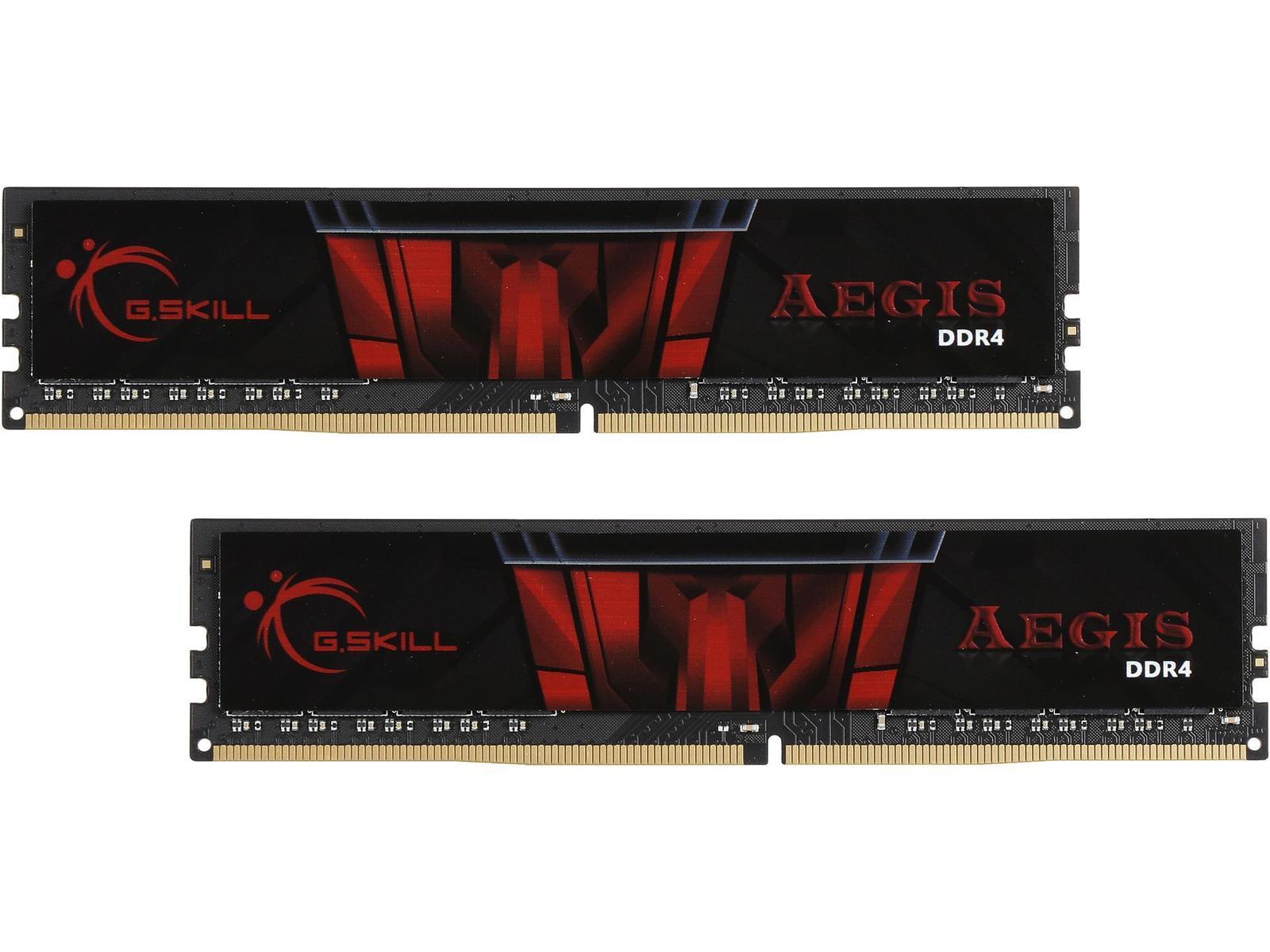 G.Skill Aegis 16 GB (2 x 8 GB) DDR4-3000 CL16 Memory