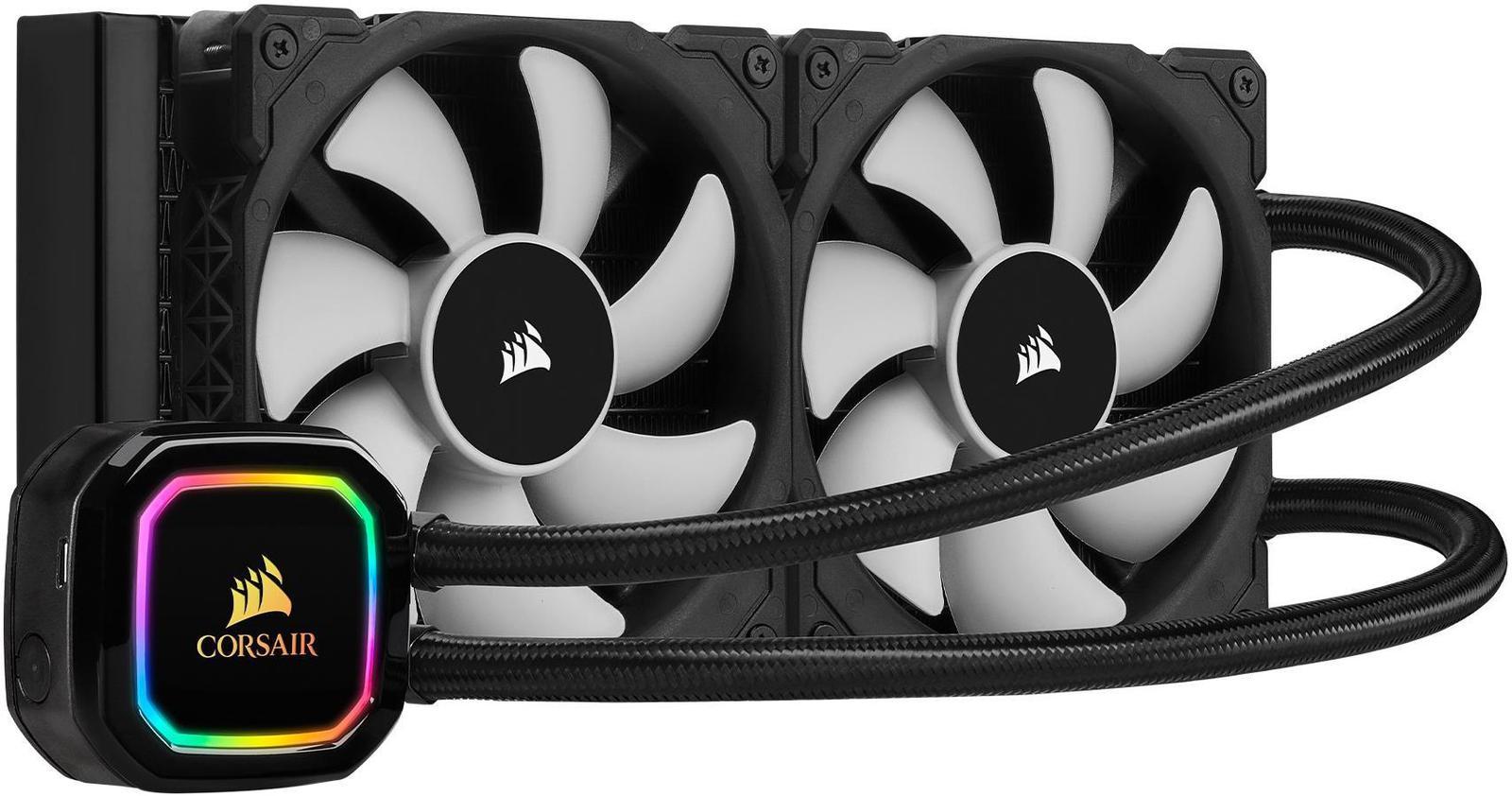 Corsair iCUE H100i RGB PRO XT 75 CFM Liquid CPU Cooler