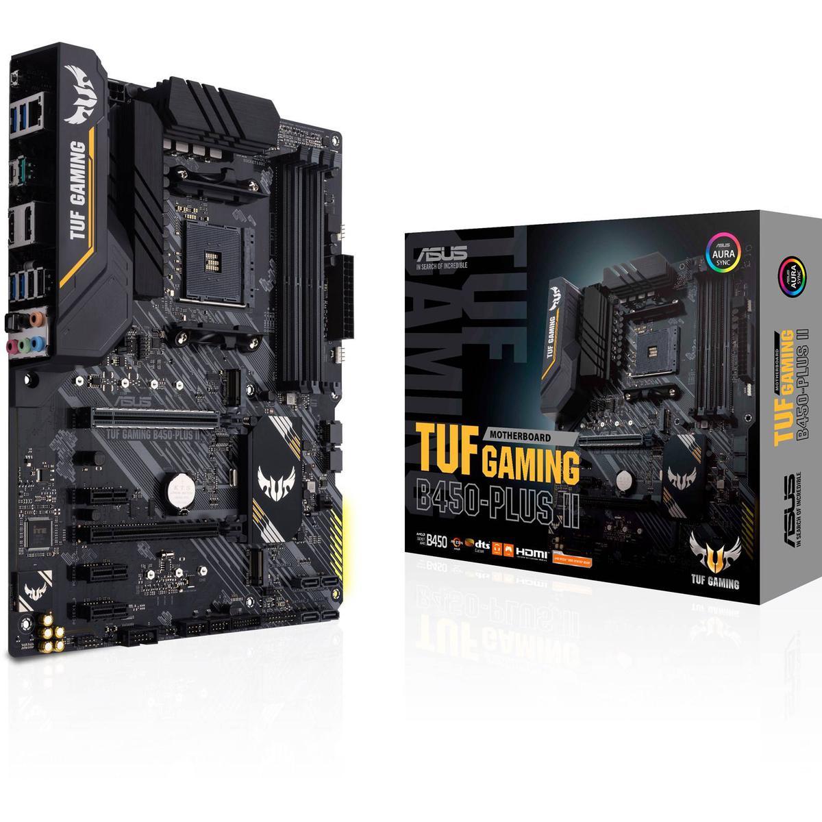 Asus TUF GAMING B450-PLUS II ATX AM4 Motherboard