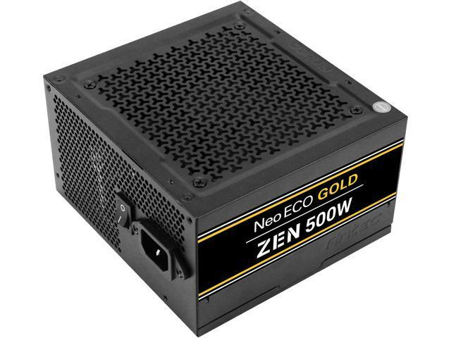 Antec NeoECO Gold ZEN 500 W 80+ Gold Certified ATX Power Supply