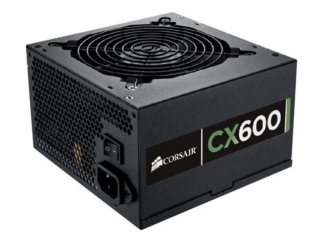 Corsair CX 600 W 80+ Bronze Certified ATX Power Supply