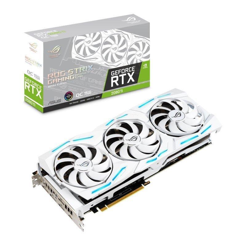 Asus GeForce RTX 2080 Ti 11 GB STRIX GAMING OC Video Card