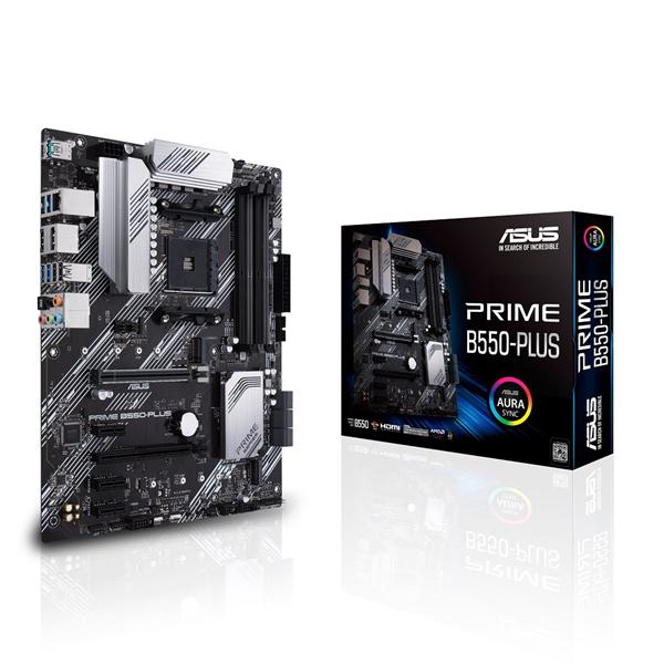 Asus PRIME B550-PLUS ATX AM4 Motherboard