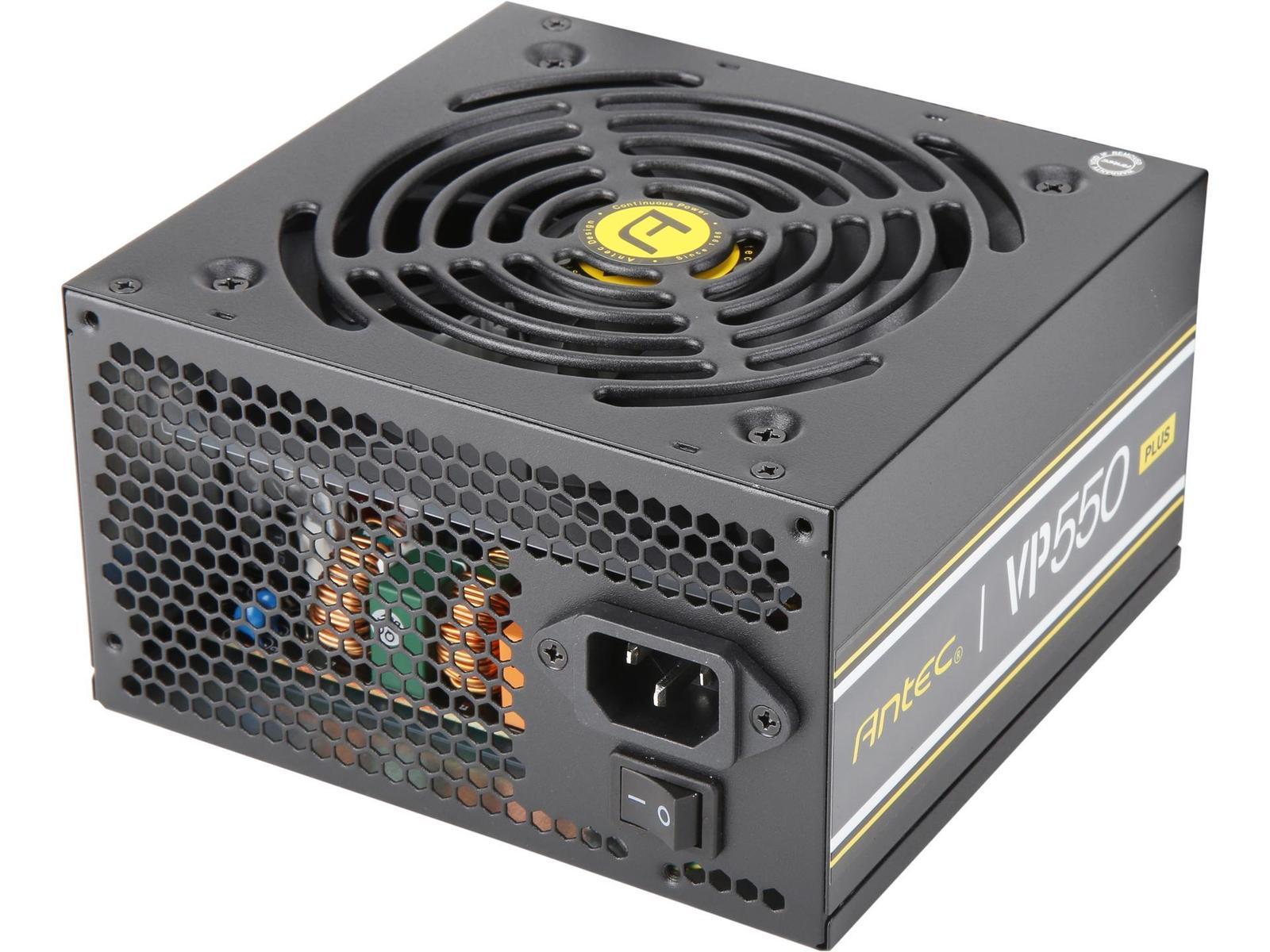 Antec VP PLUS 550 W 80+ Certified ATX Power Supply
