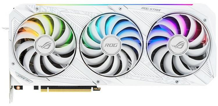 Asus GeForce RTX 3090 24 GB ROG STRIX WHITE OC Video Card