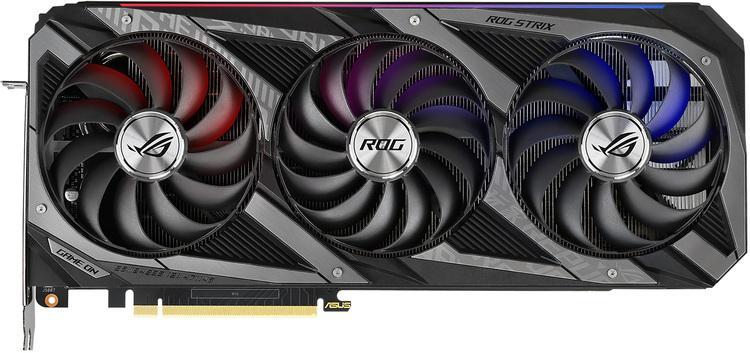 Asus GeForce RTX 3060 Ti 8 GB ROG STRIX GAMING OC Video Card