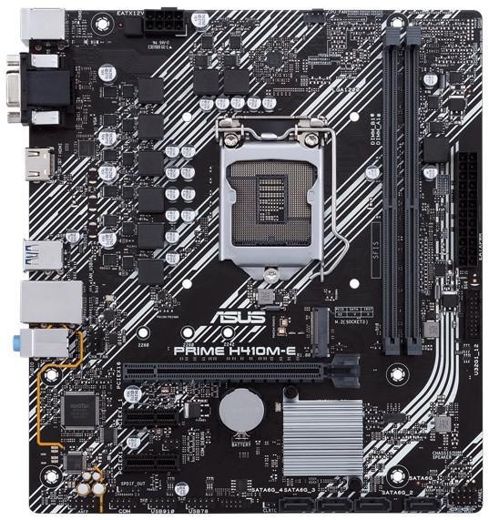 Asus PRIME H410M-E Micro ATX LGA1200 Motherboard