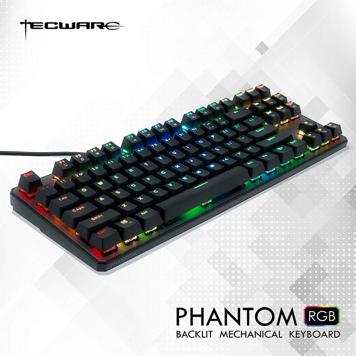 Tecware Phantom RGB Wired Gaming Keyboard