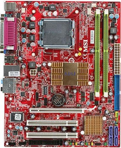 MSI G41M4-F Micro ATX LGA775 Motherboard