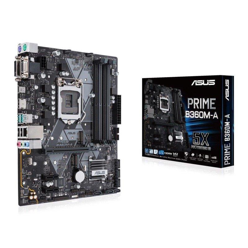 Asus PRIME B360M-A Micro ATX LGA1151 Motherboard