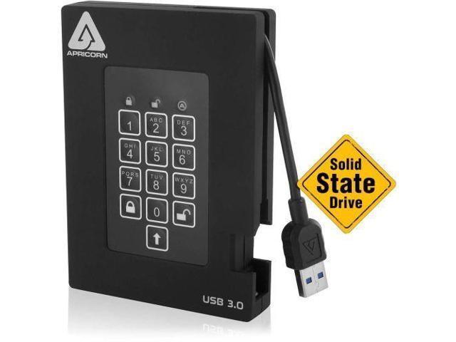 Apricom Aegis Padlock 512 GB External SSD