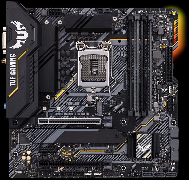 Asus TUF GAMING B460M-PLUS (WI-FI) Micro ATX LGA1200 Motherboard