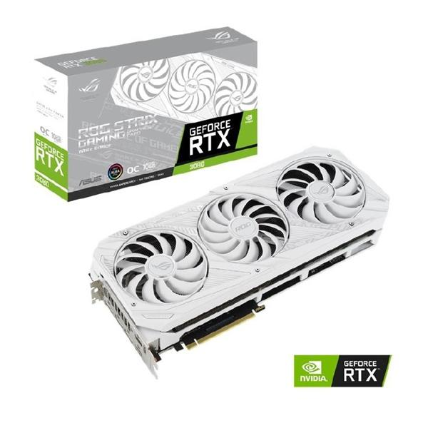 Asus GeForce RTX 3080 10 GB ROG STRIX WHITE OC Video Card