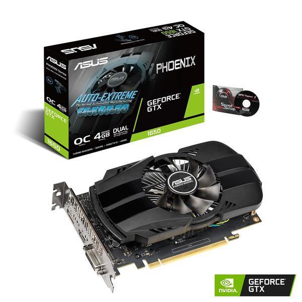 Asus GeForce GTX 1650 4 GB Phoenix OC Video Card