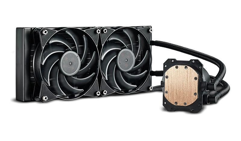 Cooler Master MasterLiquid Lite 240 66.7 CFM Liquid CPU Cooler
