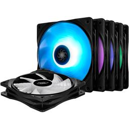 Deepcool RF120M 56.5 CFM 120 mm Fans 5-Pack