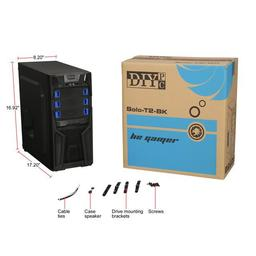 DIYPC Solo-T2-BK Black USB 3.0 ATX Mid Tower Case