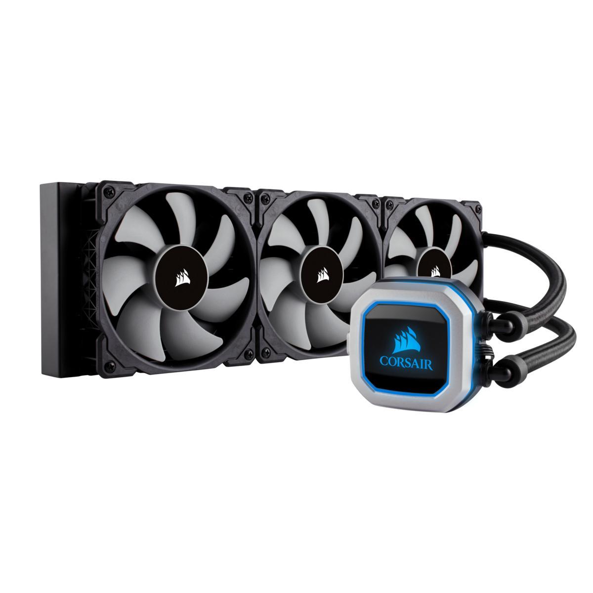 Corsair H150i PRO 47.3 CFM Liquid CPU Cooler