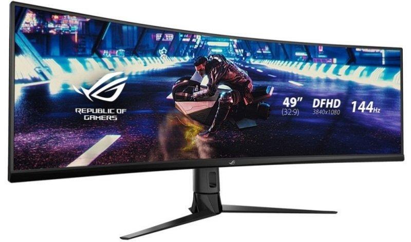 """Asus ROG Strix XG49VQ 49.0"""" 3840x1080 144 Hz Monitor"""