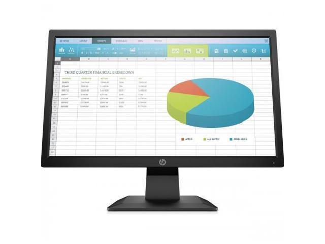 """HP P204 19.5"""" 1600x900 60 Hz Monitor"""