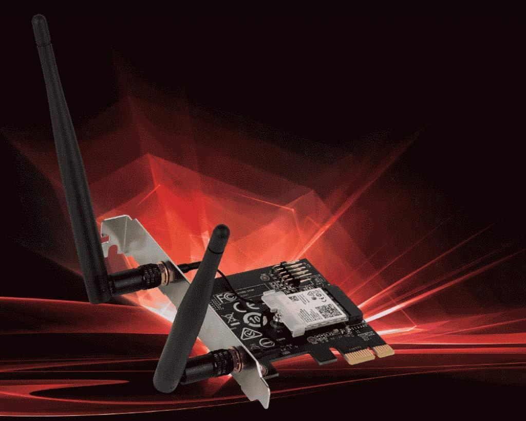 MSI AC905C PCIe x1 802.11a/b/g/n/ac Wi-Fi Adapter