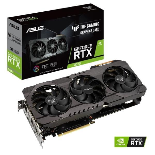Asus GeForce RTX 3070 8 GB TUF GAMING OC Video Card