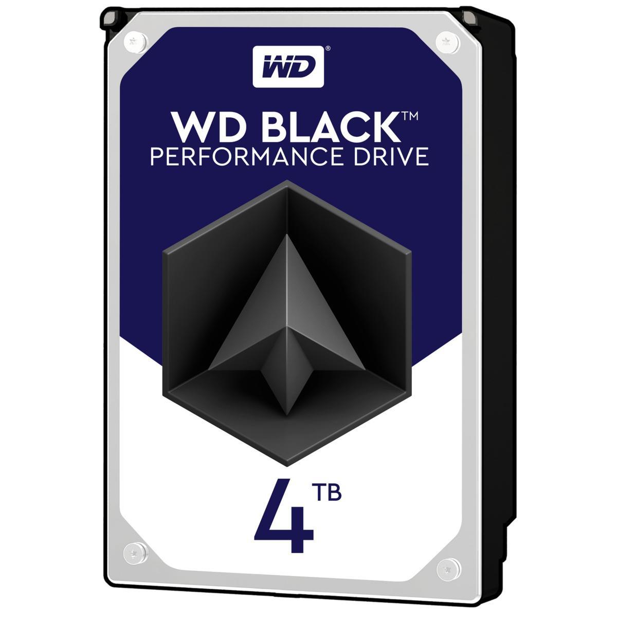 """Western Digital Black 4 TB 3.5"""" 7200RPM Internal Hard Drive"""