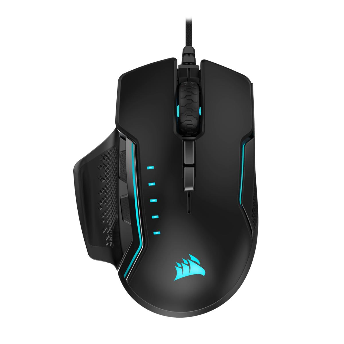 Corsair GLAIVE RGB PRO Wired Optical Mouse