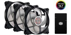 Cooler Master MasterFan Pro Air Pressure 35 CFM 120 mm Fans 3-Pack